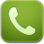 64x64px size png icon of phone green
