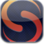 64x64px size png icon of skyfire 3d glow