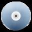 64x64px size png icon of CD avant bleu