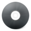 64x64px size png icon of CD noir