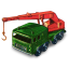 64x64px size png icon of 8 Wheel Crane
