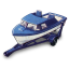 64x64px size png icon of Boat and Trailer