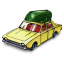 64x64px size png icon of Ford Corsair with Boat