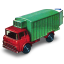 64x64px size png icon of Refrigeration Truck with Open Door