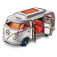 64x64px size png icon of Volkswagen Camper