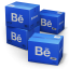 64x64px size png icon of Behance Shipping Box