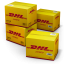 64x64px size png icon of DHL Shipping Box