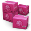64x64px size png icon of Dribbble Shipping Box