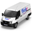 64x64px size png icon of Flickr Van Front