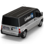 64x64px size png icon of Linkedin Van Back