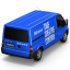 64x64px size png icon of Behance Van Back