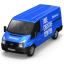 64x64px size png icon of Behance Van Front