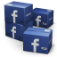 64x64px size png icon of Facebook Shipping Box