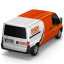 64x64px size png icon of TNT Van Back
