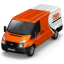 64x64px size png icon of TNT Van Front