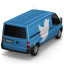 64x64px size png icon of Twitter Van Back