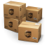 64x64px size png icon of UPS Shipping Box