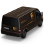 64x64px size png icon of UPS Van Back