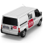 64x64px size png icon of YouTube Van Back