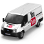 64x64px size png icon of YouTube Van Front