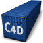 64x64px size png icon of C4d