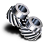 64x64px size png icon of Helical gear