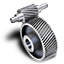 64x64px size png icon of Pinion gear