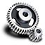 64x64px size png icon of Spur gear