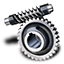 64x64px size png icon of Worm gear