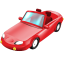 64x64px size png icon of Cabriolet