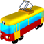 64x64px size png icon of Tram