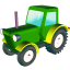 64x64px size png icon of Wheeled tractor