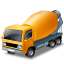 64x64px size png icon of MixerTruck