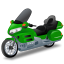 64x64px size png icon of TouringMotorcycle