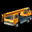 64x64px size png icon of TruckMountedCrane