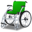 64x64px size png icon of Wheelchair