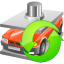 64x64px size png icon of Car utilization