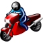 64x64px size png icon of Motorcyclist
