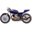 64x64px size png icon of Motorbike