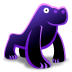72x72px size png icon of Gorilla