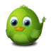 72x72px size png icon of Adium Bird Awake