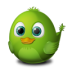 72x72px size png icon of Adium Bird Connecting