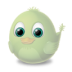 72x72px size png icon of Adium Bird Invisible