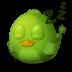72x72px size png icon of Adium Bird Sleep