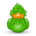 72x72px size png icon of Adium Asleep
