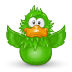 72x72px size png icon of Adium Flap