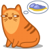 72x72px size png icon of cat slippers