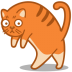 72x72px size png icon of cat walk