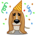 72x72px size png icon of dog birthday