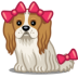 72x72px size png icon of dog bows